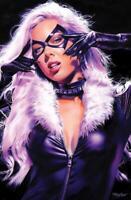 BLACK CAT #1 MIKE MAYHEW VIRGIN VARIANT NM SPIDER-MAN CARNAGE VENOM MARY JANE