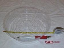 "Plant Saucer Protector 8"" Vinyl Plastic Clear Round Floor Tray QTY-4 MM-152"