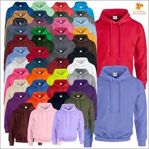 GILDAN Heavy Blend Mens Hooded Classic Sweatshirt Long Sleeve Pullover Hoodie