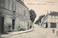 CHAROLLES - route de Champlecy (hôtel des trois faisans)