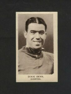 United Services Popular Footballers One Card Dixie Dean Everton 1936 Excellent