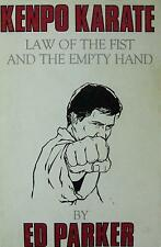 RARE 1989 KENPO KARATE LAW OF THE FIST AND EMPTY HAND BY ED PARKER MARTIAL ARTS