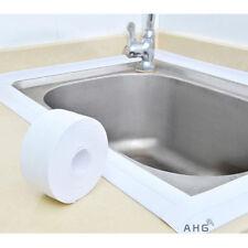 9.6M White Waterproof Sealing Strip Bath Shower Sink Basin Edge Sealant Tape