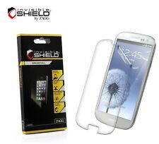 Samsung Galaxy S3 Screen Protector Clear HD ZAGG InvisibleShield Free Shipping