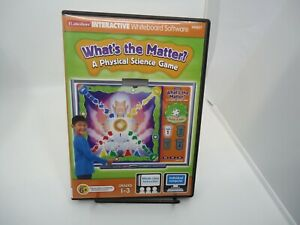 Lakeshore Interactive Whiteboard Software Whats The Matter CD-ROM VERYGOOD
