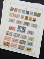 EDW1949SELL : SENEGAL Very clean Mint & Used collection on album pages. Cat $803