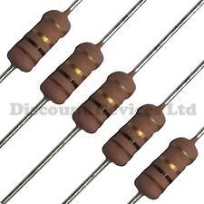 Resistencias Metal fusible 0.1/Ohms 1/Watts //-10/% 10/piezas