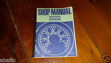 1969 1970 Z50 Z50A MONKEY 1972 1973 1974 SERVICE SHOP REPAIR MANUAL USED