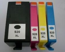 Set of 4 No 920XL Inkjet Cartridges Non-OEM Alternative With HP Officejet 6500A