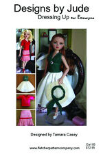 Dressing Up Doll Clothes Sewing Pattern for Ellowyne Wilde , Tonner