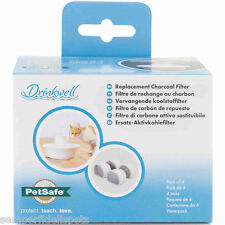 Petsafe Drinkwell Avalon Replacement Charcoal Filter 4 Pack