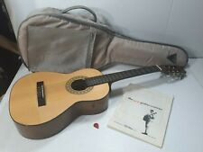 Vintage Rare Hondo Sonora Model H11N  Acoustic Guitar 6 string With Travel Bag