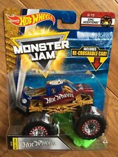 2018 HOT WHEELS MONSTER JAM SINCE 68 TRUCK with RE-CRUSHABLE CAR
