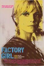 FACTORY GIRL Movie POSTER 27x40 Guy Pearce Sienna Miller Hayden Christensen