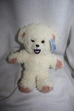 "Snuggle Gund Bear White 046919 10"" Plush Stuffed"