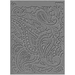 "Lisa Pavelka Individual Texture Stamp 4.25""X5.5"" Paisley 810444020324"
