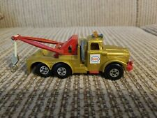 Matchbox Super Kings Scammel Heavy Wreck Truck K2 Esso Gold 1969 Made in England