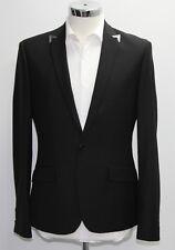 Men's River island, casual Black blazer (40R).. sample 2290