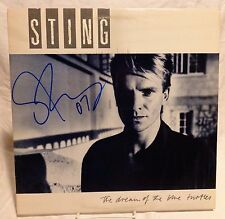 "Sting ""The Police"" Signed Autographed Album D"