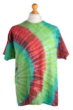 """Vintage Multicolored Rainbow Tie and Dye T-Shirt Chest Size 46"""" - TS326"""