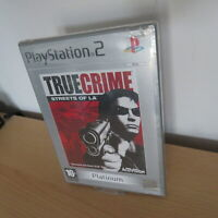 New  Sealed Playstation 2 True Crime Streets Of LA PS2 pal version