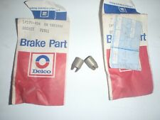2 NOS GM DELCO Disc Brake Adjusting Screw Sockets 68 69 CAMARO JL8 1968 1969