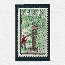 1986 - Nigeria Coconut Harvest 10 kobo Stamp Used SG#NG 516