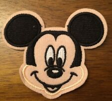 Mickey Mouse Cartoon Embroided Hot Iron On Patch 3""
