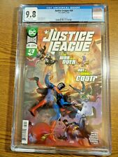 Justice League #39 Kirkham A Cover CGC 9.8 NM/M Batman Superman Flash 1st Pr DC
