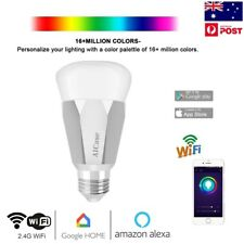 Smart WiFi Bulb LED Wireless Lamp 7W E27 Remote Phone App Control Fr Google Home