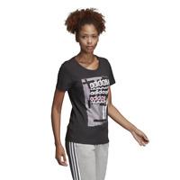 Adidas Women Tshirt Lifestyle Essential Linear Tee Gym DV3012 Fashion Fitness