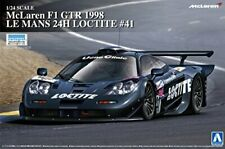 Aoshima 1/24 McLaren F1 GTR 1998 LeMans 24h Loctite #41 Plastic Model Kit NEW