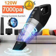 7000PA HAND HELD PORTABLE CAR VACUUM CLEANER CORDLESS WET & DRY+ TOOLS HOOVER