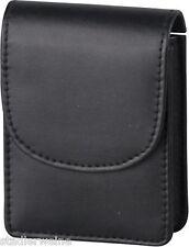 Portasigarette Sguardo cuoio nero / grande scatola