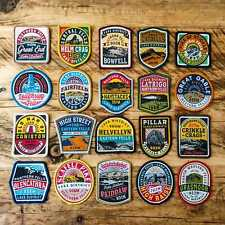 More details for lake district wainwright fells patches (set of 20) - bundle deal!