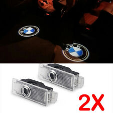 3D BMW Emblem LED Lights Logo Projector Ghost Shadow Car Bright Lights Door Set