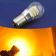 4x 39 SMD LED CANBUS 12V 24V AC 581 BA15S 1156 P21W BULBS INDICATOR ORANGE AMBER