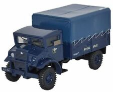 Oxford Diecast 1:76 - CMP LLA Tractor - Royal Blue - 60mm Long (Approx)