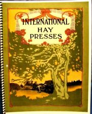 1910  International Harvester  Hay  Presses  Catalogue  Fully  Illustrated