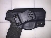 IWB Holster for S&W M&P Shield 9 or 40 - Adjustable Retention - 15 Deg Cant