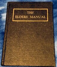 1900's THE ELDERS MANUAL Independence Missouri Edition Scarce Vintage LDS Rare
