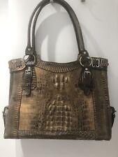 Extraordinary - Real Rare Crocodile & Snakeskin HandBag / Laptop Bag