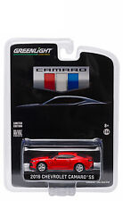 GREENLIGHT 2016 CHEVROLET CAMARO SS RED ALL NEW UNVEILING EDITION 1/64 CAR 29861