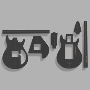 "Gibson Grabber Style Bass Template MDF 0.50"""