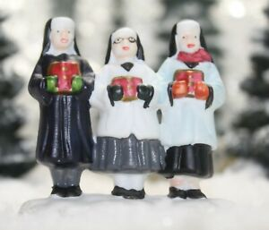 Target It's a Wonderful Life Holiday Village Go-Along Figurine - 3 NUNS in Ad