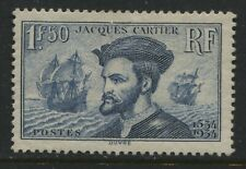 France 1934 1f50 Jacques Cartier mint o.g.