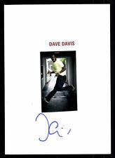 Dave Davis Original Signiert # BC 46323