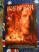 END OF DAYS   ARNOLD SCHWARZENEGGER 1 SHEET MOVIE POSTER