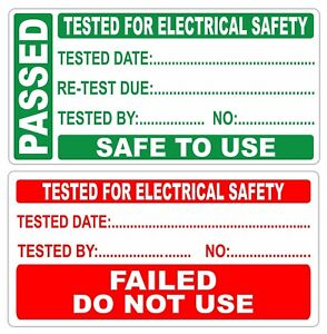 PAT Test Labels, PASS or FAIL DO NOT USE, See listing on how to get free marker
