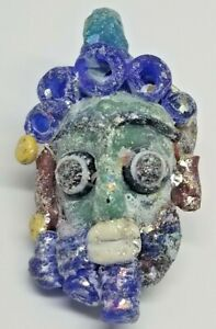 Phoenician Mosaic Glass Pendant